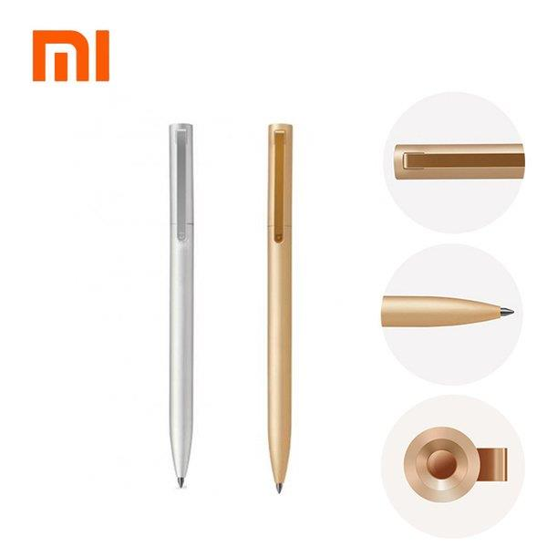 Original Xiaomi Mijia Metal Sign Pens PREMEC Smooth Switzerland Refill 0.5mm Signing Pens Mi Aluminum Alloy Pens