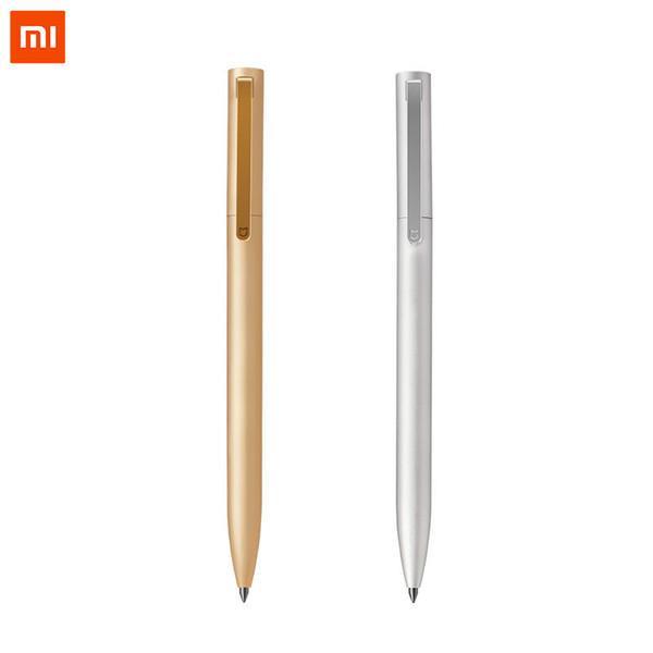 Original Xiaomi Mijia Metal Sign Pen PREMEC Smooth Switzerland Refill 0.5mm Signing Writing Pens Mi Aluminum Alloy Pens