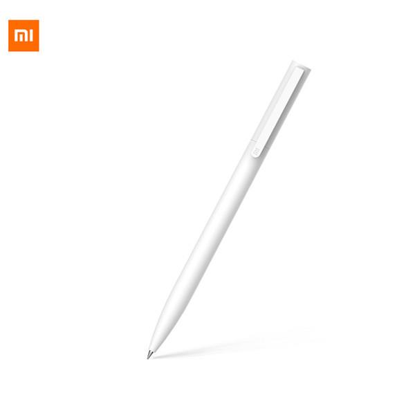 Xiaomi New 10PCS ABS White Simplicity Gel Pen Black 0.5mm Refill Neutral Pen For Office School Supplies Student Stationery