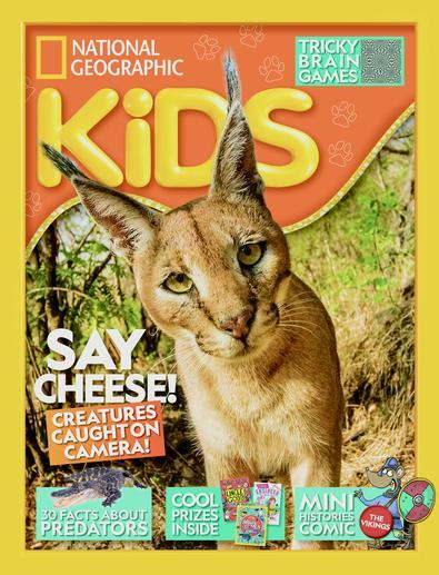 Magazine : National Geographic Kids Magazine 12 Month Subscription