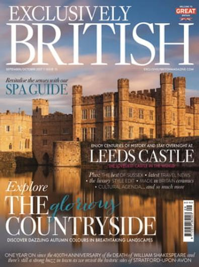 Magazine : Exclusively British Magazine (UK) Magazine 12 Month Subscription