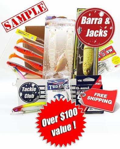 Magazine : Tackle Club Barra and Jacks Fishing Box Magazine 12 Month Subscription