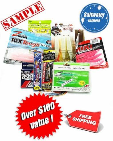 Magazine : Tackle Club Inshore Fishing Box Magazine 12 Month Subscription