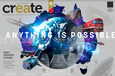 Image of create Magazine 12 Month Subscription
