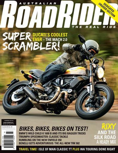Image of Road Rider Magazine 12 Month Subscription