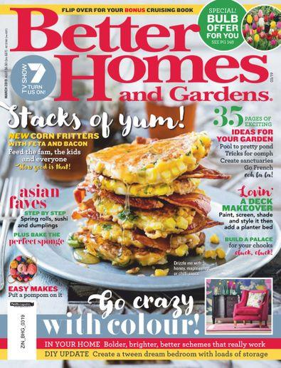 Magazine : Better Homes and Gardens Magazine 12 Month Subscription