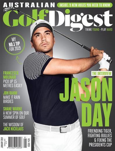 Australian Golf Digest magazine