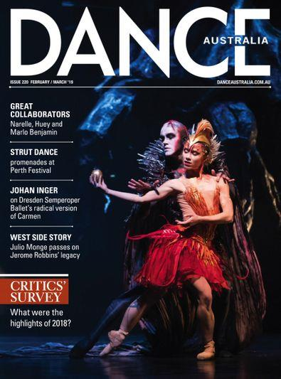 Magazine : Dance Australia Magazine 12 Month Subscription