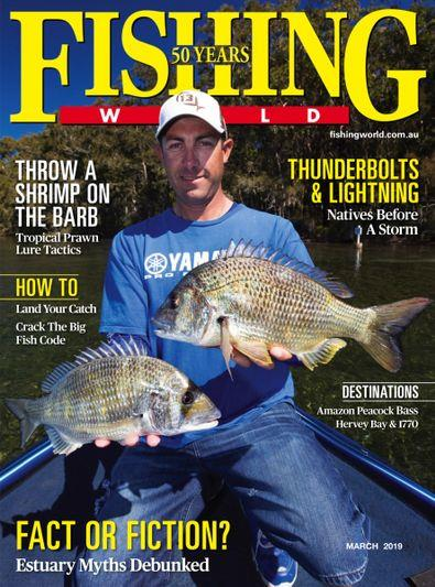 Magazine : Fishing World Magazine 12 Month Subscription