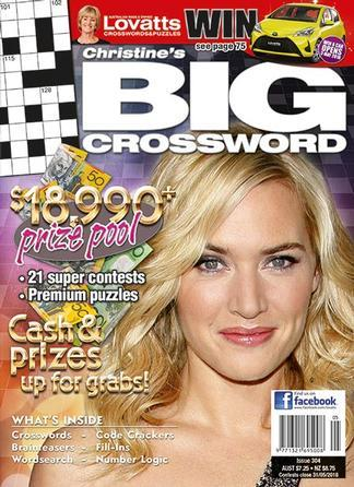 Magazine : Christine's BIG Crossword Magazine 12 Month Subscription