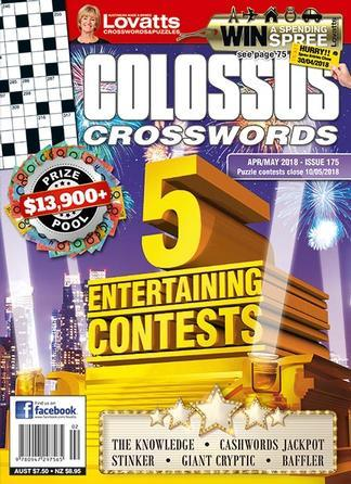 Magazine : Lovatts Colossus Crosswords Magazine 12 Month Subscription