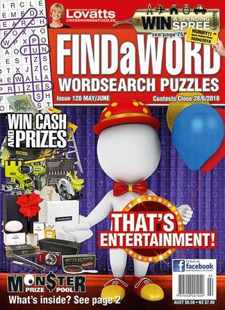 Magazine : Lovatts FindaWord Magazine 12 Month Subscription