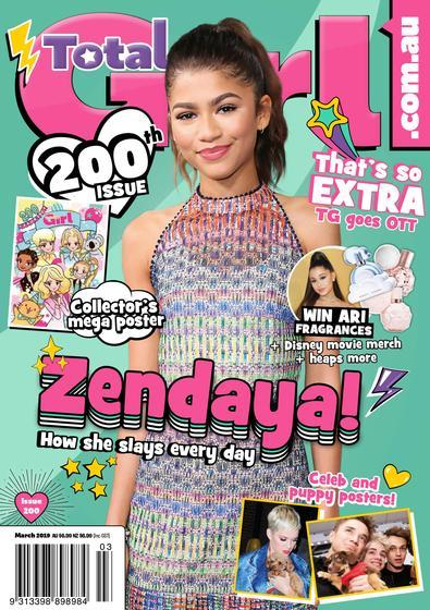 Magazine : Total Girl Magazine 12 Month Subscription