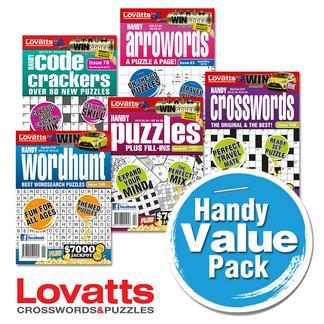 Magazine : Lovatts Handy Value Pack Bundle Magazine 12 Month Subscription