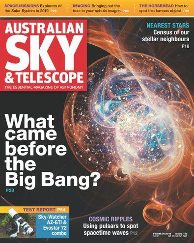 Magazine : Australian Sky & Telescope Magazine 12 Month Subscription