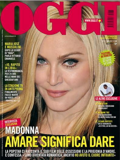 Magazine : OGGI (Italia) Magazine 12 Month Subscription