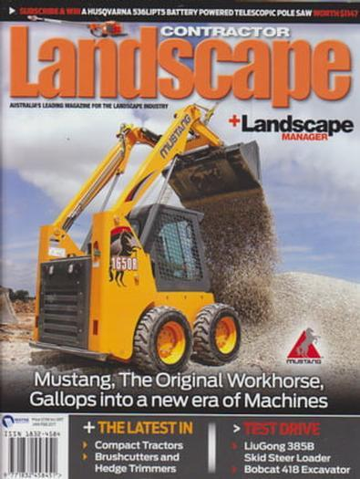 Magazine : Landscape Contractor + Landscape Manager Magazine 12 Month Subscription