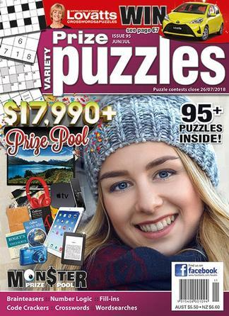 Magazine : Lovatts Prize Puzzles Magazine 12 Month Subscription