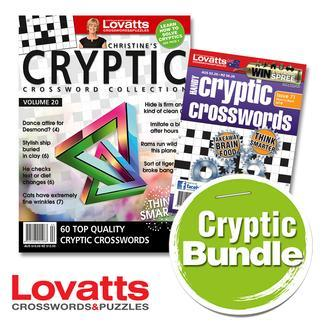 Magazine : Lovatts Cryptics Bundle Magazine 12 Month Subscription