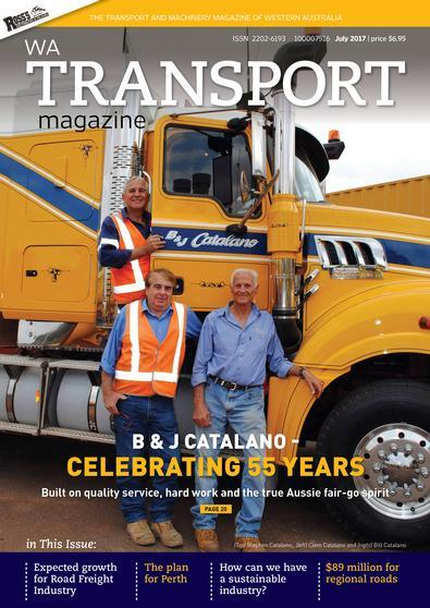 Image of WA Transport Magazine 12 Month Subscription