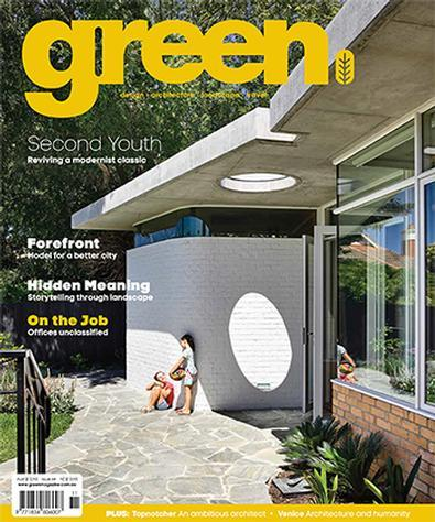 Magazine : green Magazine 12 Month Subscription
