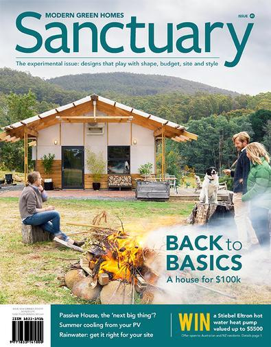 Magazine : Sanctuary: modern green homes Magazine 12 Month Subscription