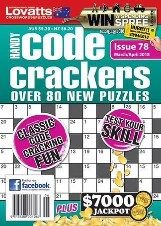 Magazine : Lovatts Handy Code Crackers Magazine 12 Month Subscription