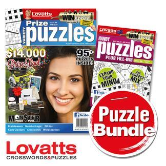 Magazine : Lovatts Puzzles Bundle Magazine 12 Month Subscription