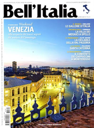 Image of Bell'Italia Magazine 12 Month Subscription