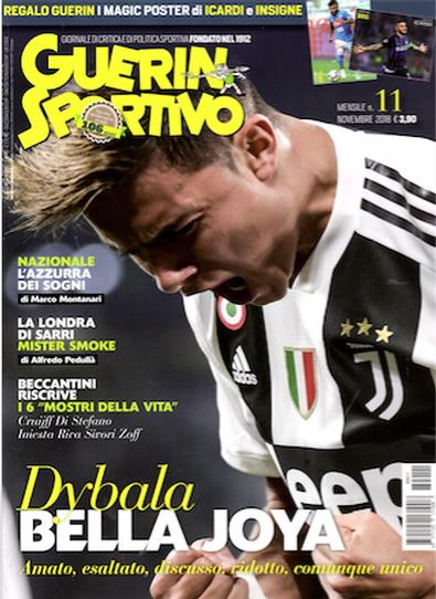 Magazine : Guerin Sportivo (Italy) Magazine 12 Month Subscription