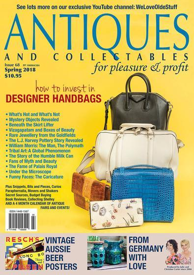 Image of Antiques and Collectables for Pleasure & Profit Magazine 12 Month Subscription