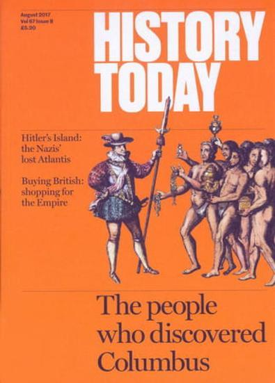 History Today Uk magazine