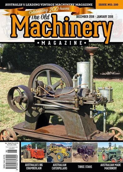 The Old Machinery magazine
