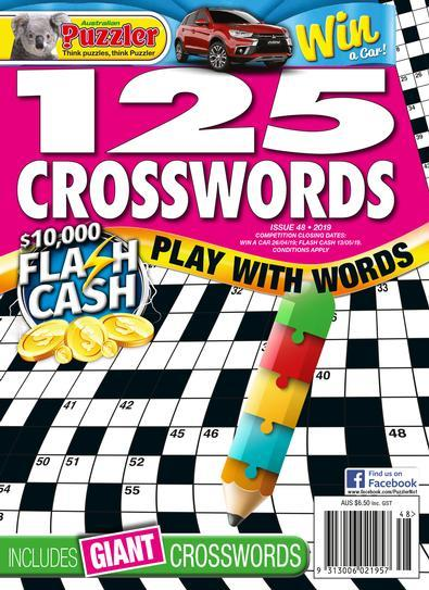 Magazine : 125 Crosswords Magazine 12 Month Subscription