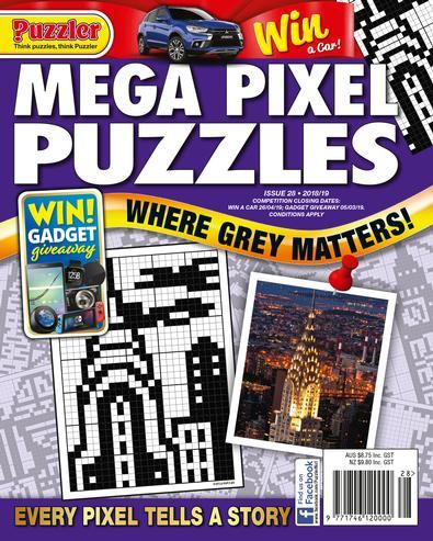 Magazine : Mega Pixel Puzzles Magazine 12 Month Subscription