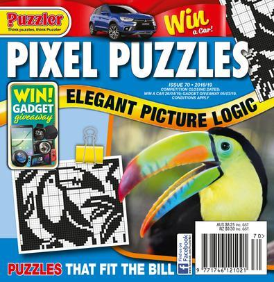 Magazine : Pixel Puzzles Magazine 12 Month Subscription