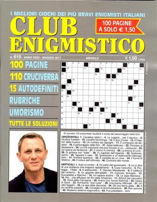 Magazine : Club Enigmistico (Italy) Magazine 12 Month Subscription