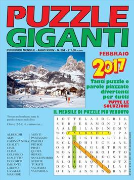Magazine : Puzzle Giganti (Italy) Magazine 12 Month Subscription