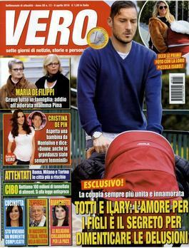 Magazine : Vero (Italy) Magazine 12 Month Subscription