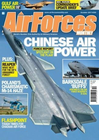 Airforces Monthly Uk magazine