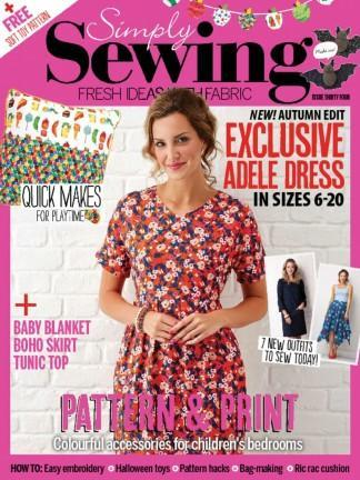 Simply Sewing Uk magazine