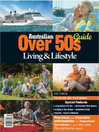 Magazine : Australian Over 50s Living & Lifestyle Guide VIC Magazine 12 Month Subscription