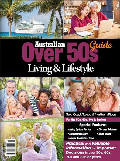 Magazine : Australian Over 50's Living & Lifestyle Guide GCT Magazine 12 Month Subscription