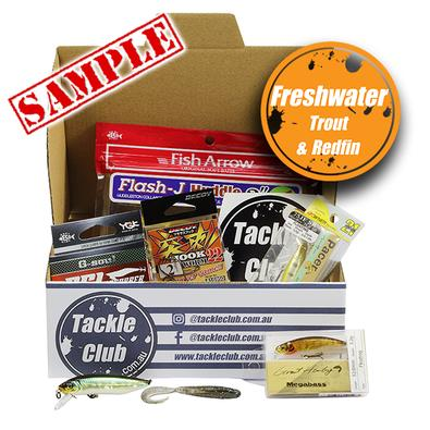 Tackle Club Freshwater Trout And Redfin Fishing Box