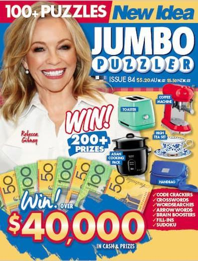 Magazine : New Idea Jumbo Puzzler Magazine 12 Month Subscription