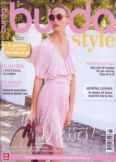 Magazine : Burda Style Magazine 12 Month Subscription