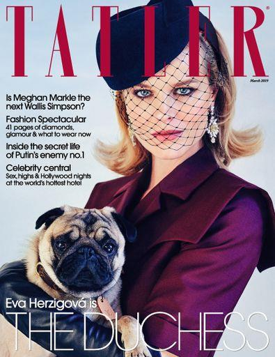 Magazine : Tatler (UK) Magazine 12 Month Subscription