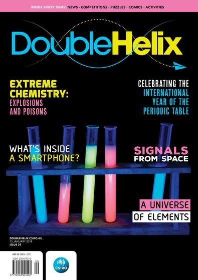 Magazine : Double Helix Magazine 12 Month Subscription