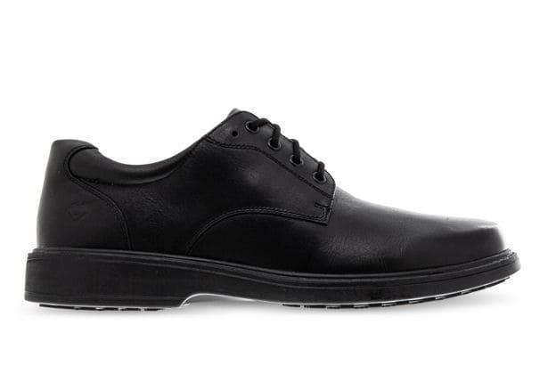 Image of ALPHA RILEY NARROW (GS) KIDS LACE UP BLACK