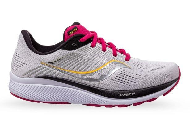 Image of SAUCONY GUIDE 14 WOMENS ALLOY CHERRY